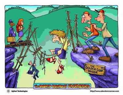 دنیا بدون مهندس